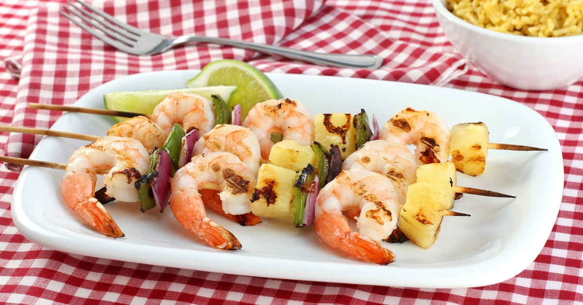 how to cook banana prawns on bbq