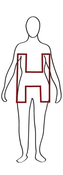 H Frame Body Shape