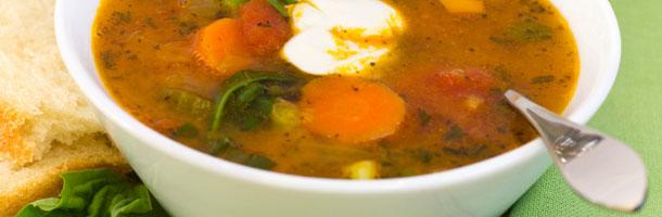 Diet recipes vegetable soup