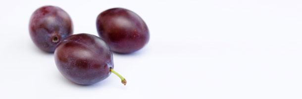 Purple and Blue Food