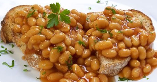 Baked Beans on Wholemeal Toast