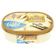 Carte Dor, Light, Vanilla Ice Cream, 4.5% Fat
