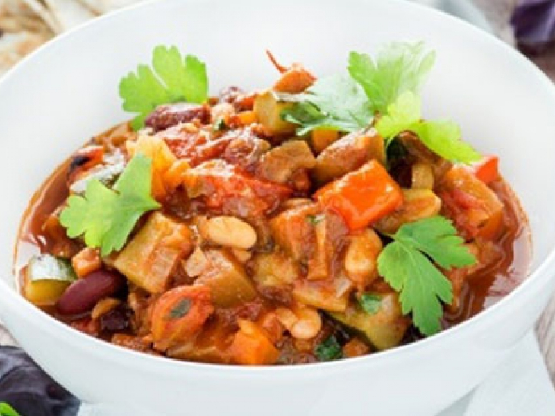 Detox Plan Dinner: Potato and Bean Casserole
