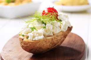 Jacket Potato with Cottage Cheese and Pineapple - Weight Loss Resources - Lunch Day 2