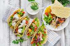Chicken and Salad Tacos - Weight Loss Resources