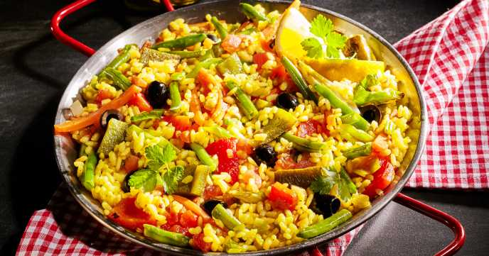 Seafood Paella Recipe - Weight Loss Resources