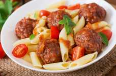 Quick Pasta and Meatballs - Weight Loss Resources