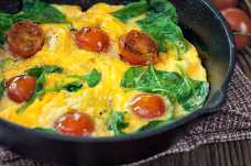 Spinach and Tomato Omelette - Weight Loss Resources
