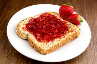 Strawberry Jam on Toast - Weight Loss Resources