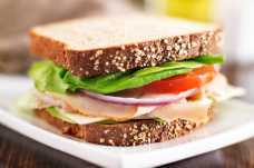 Turkey and Salad Sandwich - Weight Loss Resources - Lunch Day 1