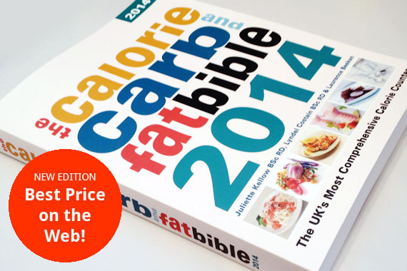 Calorie, Carb and Fat Bible 2014