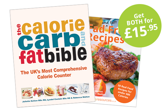 Calorie, Carb and Fat Bible + Fad Free Recipes