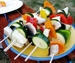 Roasted Vegetable Kebabs