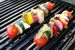 Vegetable and Pesto Kebabs
