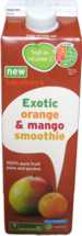 Sainsbury's Exotic Orange & Mango Smoothie