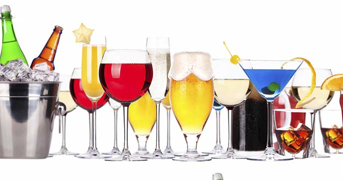 Calories in alcoholic drinks weight loss resources for Good alcoholic mixed drinks