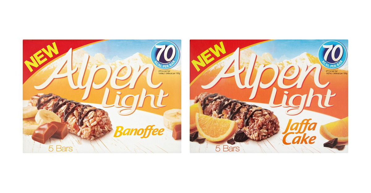 12 Amazing New Low-Fat and Low Calorie Foods - Alpen Light Bars - Weight Loss Resources