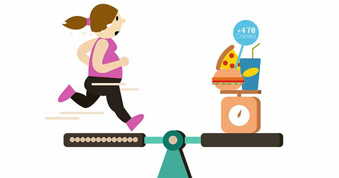 Image result for If you are running to shed weight, you'll have to burn more calories than you eat