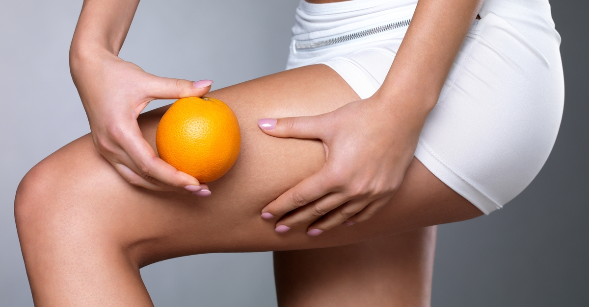 Eat oranges, packed with cellulite-busting vitamin C, to minimise orange peel skin