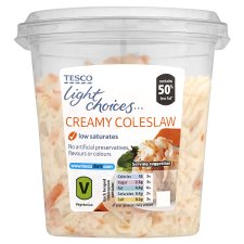 Tesco, Light Choices Coleslaw