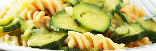 Courgette with Pasta