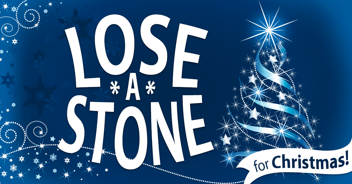 Lose a Stone for Christmas Banner Advert