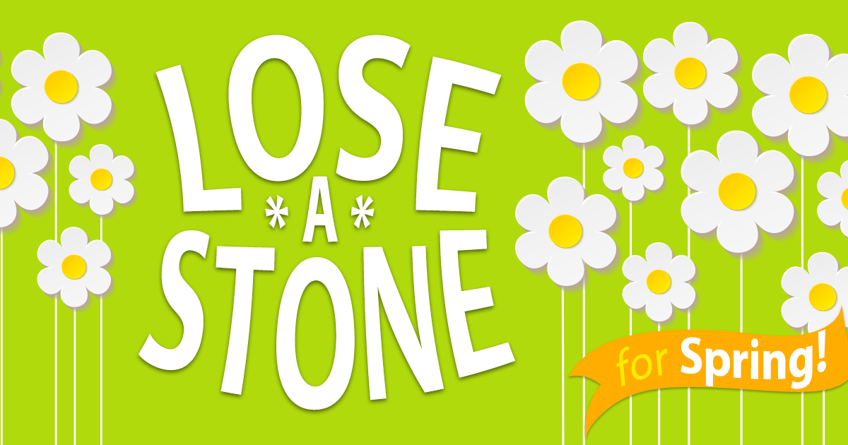 Lose A Stone For Spring Banner Advert