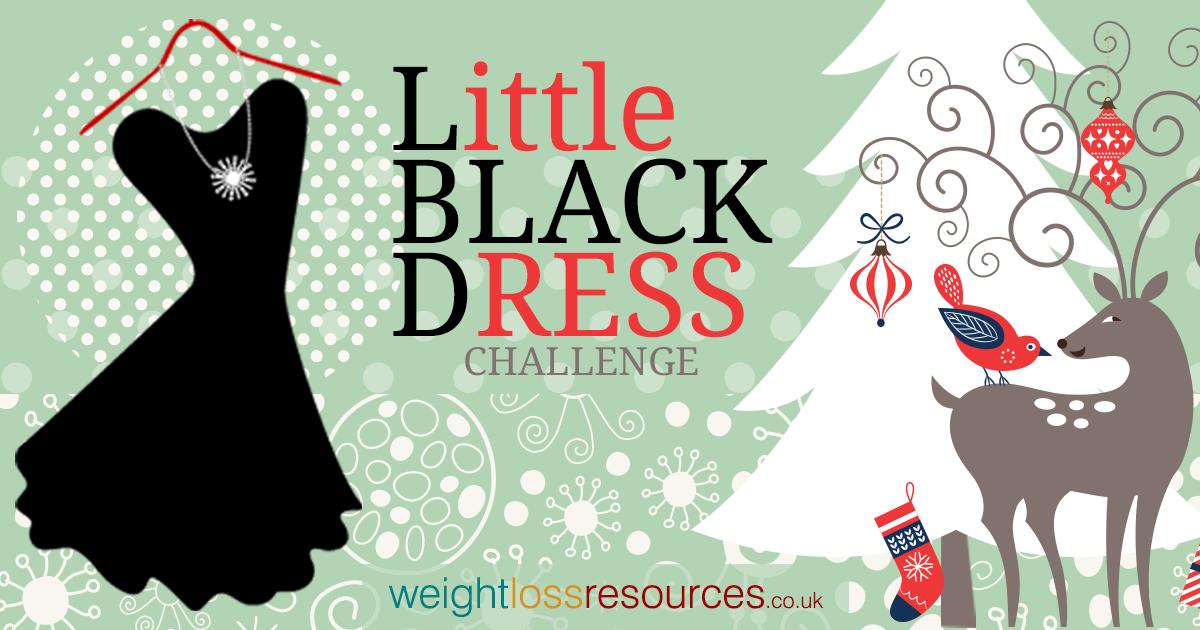 Little black dress diet christmas challenge weight loss resources