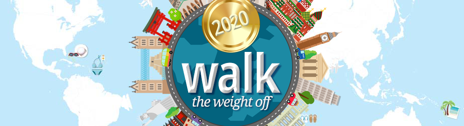 Walk the Weight Off 2019 Challenge Advert