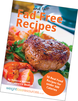 Fad free recipes 50 real food recipes for under 500 calories fad free recipes book forumfinder Images
