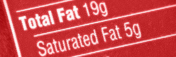 Fat Information on Food Label