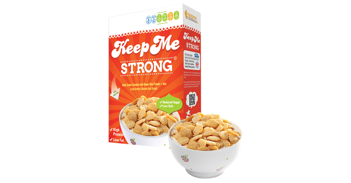 12 Amazing New Low-Fat and Low Calorie Foods - Keep Me Strong High Protein Cereal - Weight Loss Resources