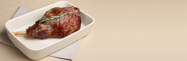 Spiced Roast Leg of Lamb