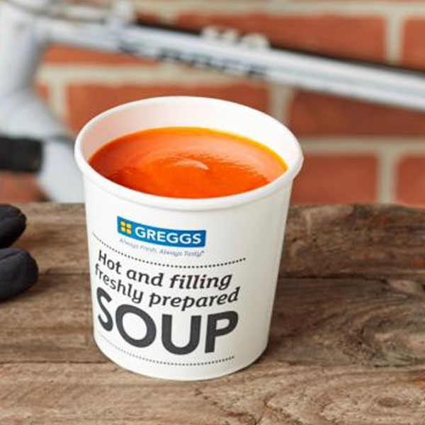 Greggs Cream of Tomato Soup