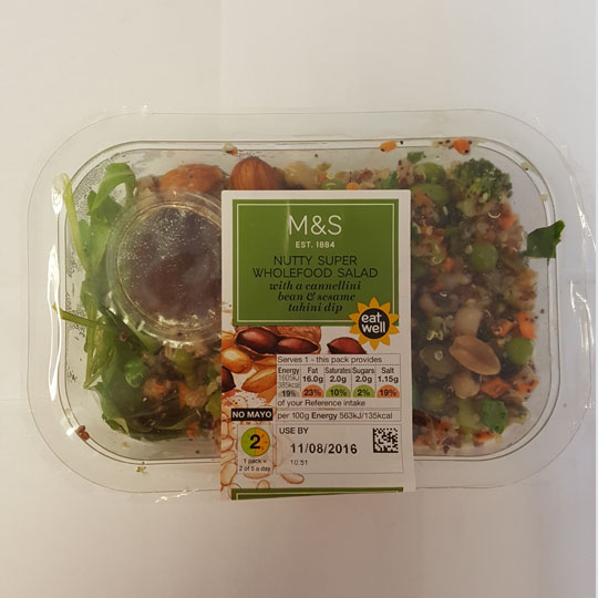 M&S Nutty Super Wholefood Salad