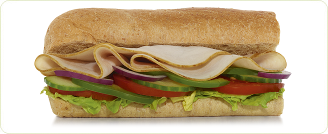 Subway Turkey Breast 6-inch Sub