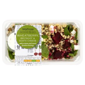 Waitrose Good to Go Beetroot & Goats Cheese Shaker Salad