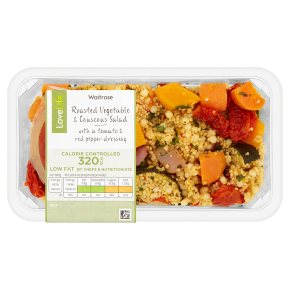 Waitrose LoveLife Calorie Controlled Roasted Vegetable & Couscous Salad