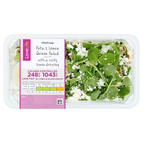 Waitrose LoveLife Calorie Controlled Feta & Lemon Quinoa Salad