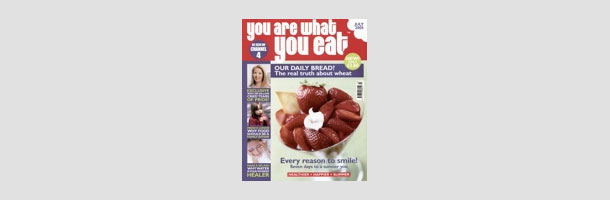 You Are What You Eat Magazine