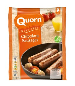 Quorn Meat Free Chipolata Sausages