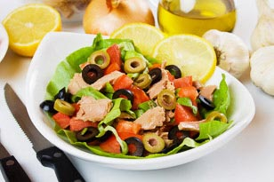Tuna and Olive Salad