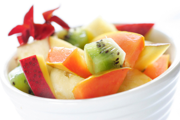 Detox Plan Snack: Fruit Salad