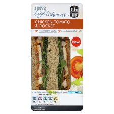 Tesco Light Choices Chicken Sandwich