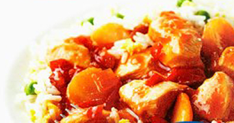 Tesco sweet and sour chicken ready meal