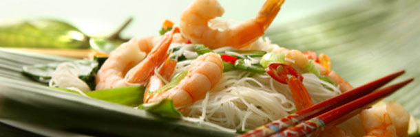 Tiger Prawn Stirfry