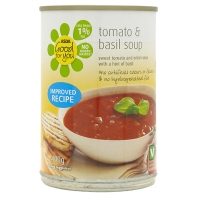 Asda Tomato and Basil Soup