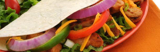 Vegtable Fajitas