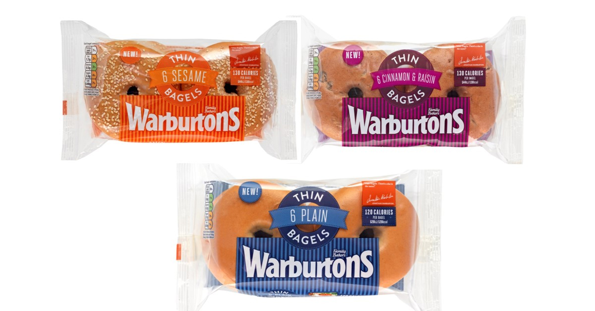 12 Amazing New Low-Fat and Low Calorie Foods - Warburton�s Thin Bagels - Weight Loss Resources