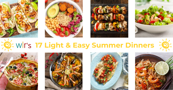 17 Summer Dinner Ideas